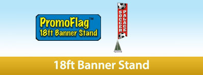Promoadline 18ft banner stand