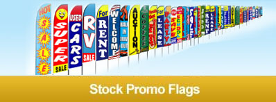 Promoadline Stock Promo Flags