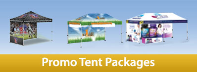 Promoadline promo tent packages