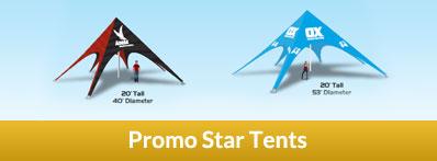Promoadline Promo Star Tents