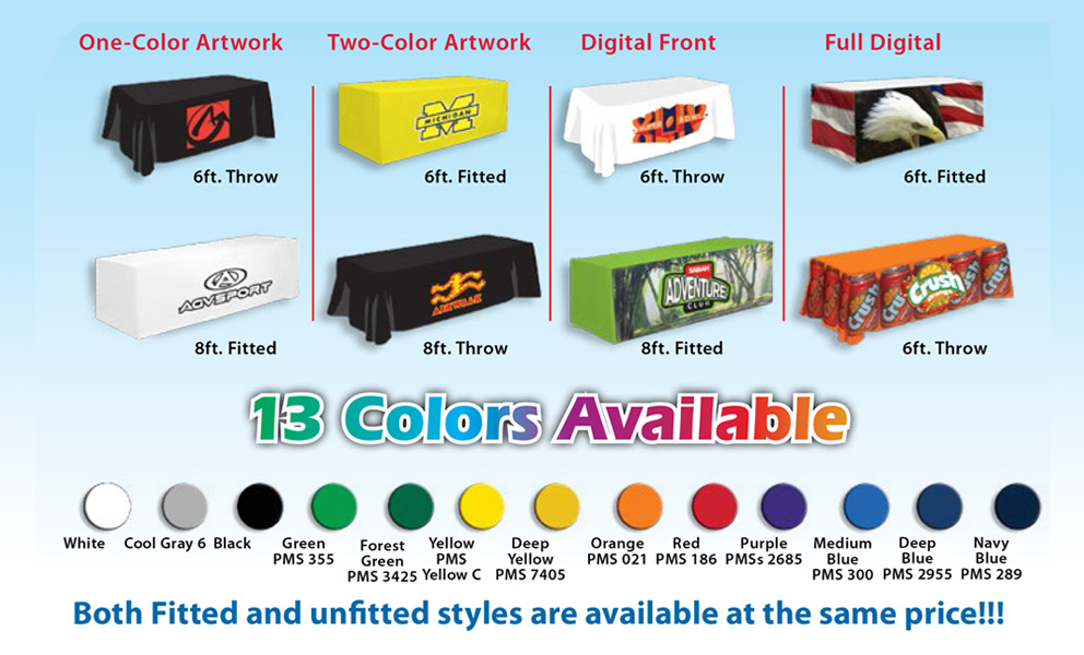 Promoadline Table Covers