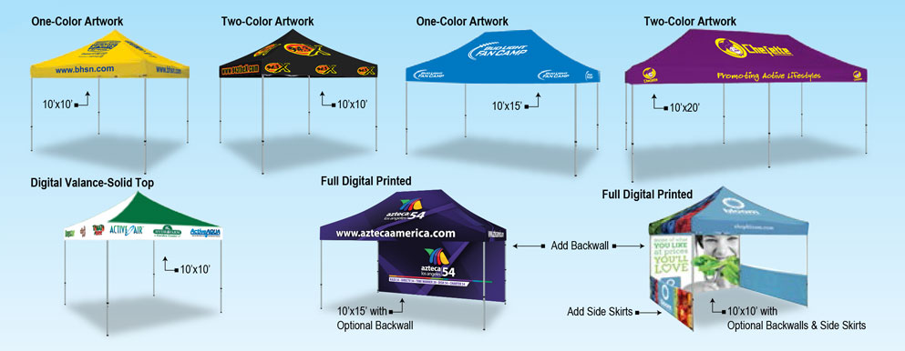 vinyl tents
