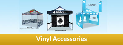 Promoadline Promo Tents Vinyl Accessories