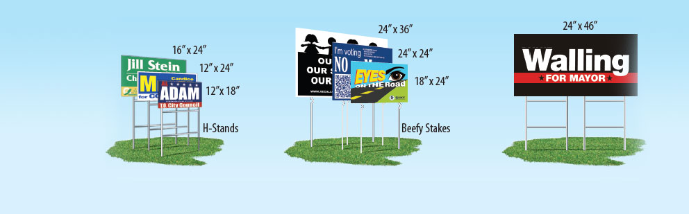 Promoadline yard signs